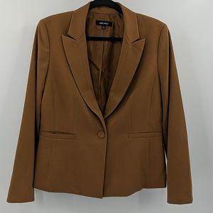 NINE WEST One Button Blazer